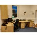 Our new Head teacher office