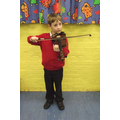 Learning the violin in Y3