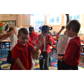 Bubble fun as a reward for fantastic learning!