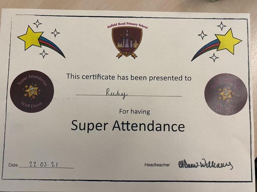 Incredibles- Super Attendance