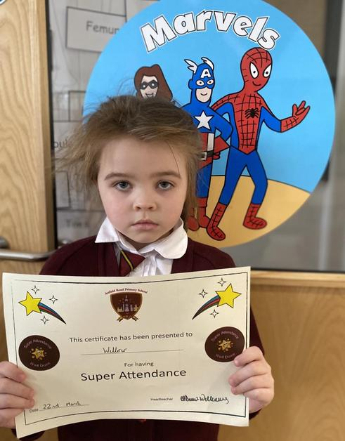 Marvels- Super Attendance