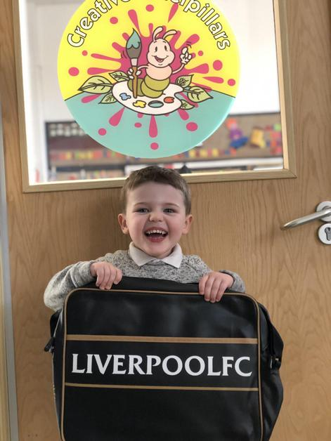 Nursery- You have a fantastic attitude to learning and pride in your work.