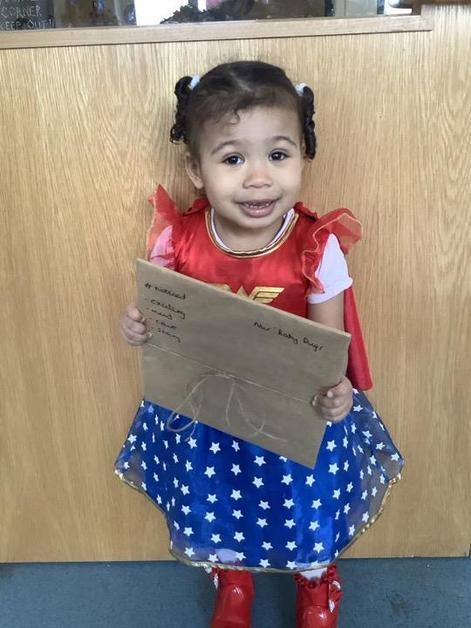 Nursery- An absolute joy in the classroom. So helpful & a beautiful singer!