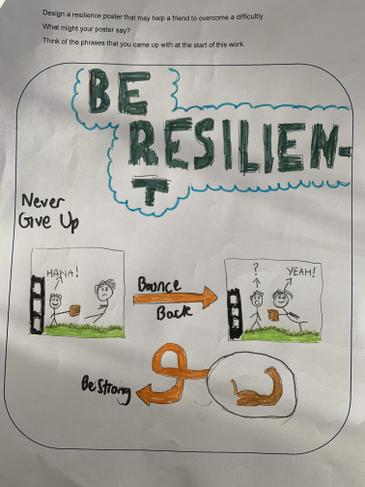 Muttaqi's resilience poster