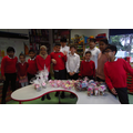 For Young Enterprise week we raised an outstanding amount £57.75. Well done!