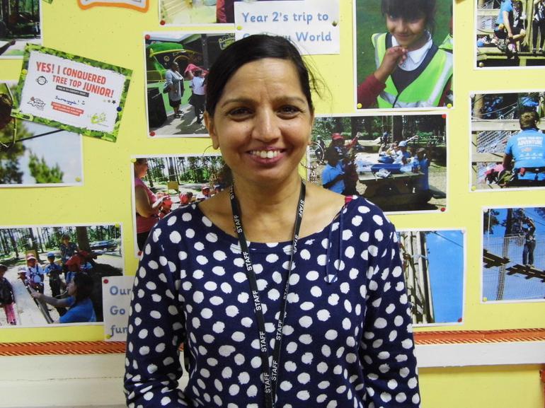Mrs V Padwagga, Teacher SL1