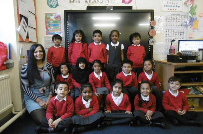 Mrs Chohan and the Ladybirds