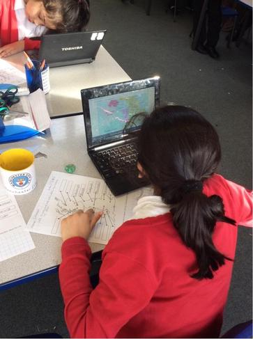 Year 3 are researching about the UK