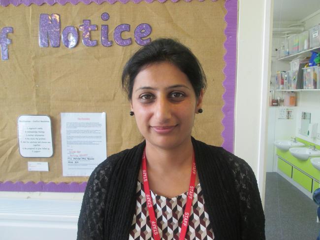 Farzana Yousaf - Teaching Assistant