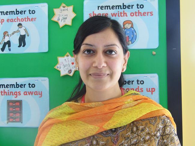 Mrs I Ajaz, Teaching Assistant 2S