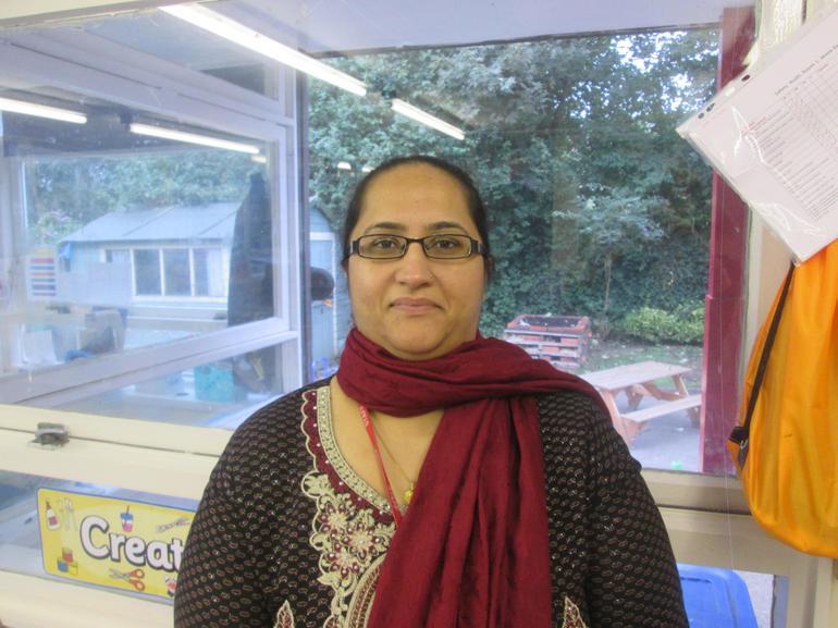 Yasmeen Ahktar - part time Teaching Assistant