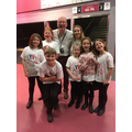 Meeting Mr Lawrence the conductor!