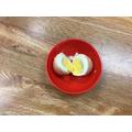 Egg in milk