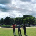 Mrs Jones even organised a red arrows fly-by!!