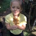 Yuna liked this leaf.