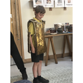 A Roman soldier in the making....