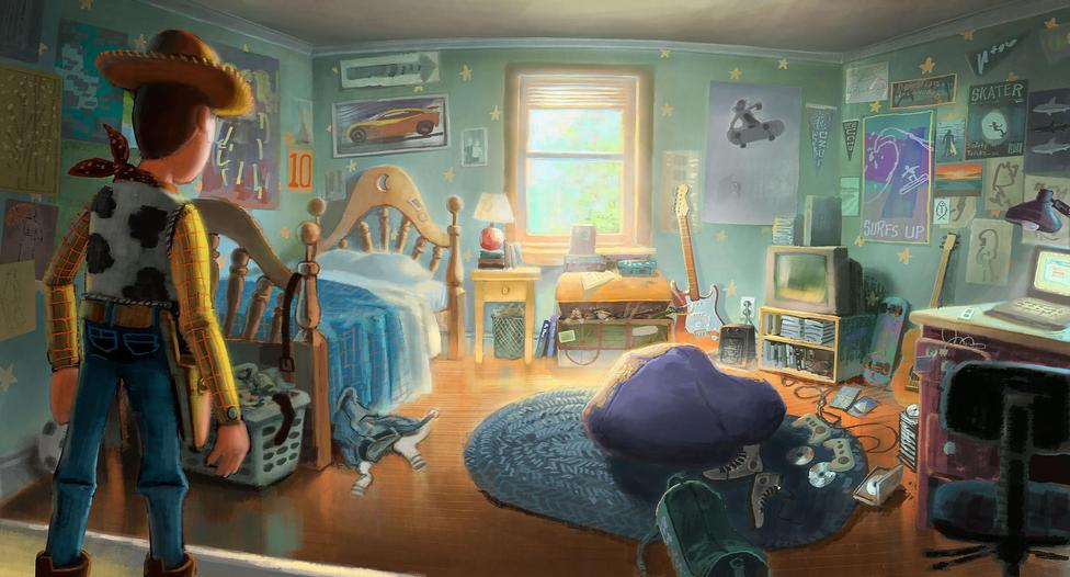 Glenn-Kim-Andys-Room from Once Upon  a Picture