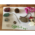 Isobel did the 10 interesting objects challenge