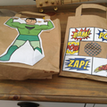 Enjoy your Super Hero party bag.