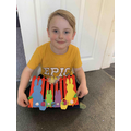 Max has made a great Easter picture. Well done