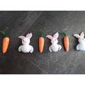 Rocco had a go at an Easter pattern