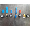Rocco used Lego to make his repeating pattern