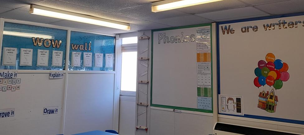 Our Literacy area.