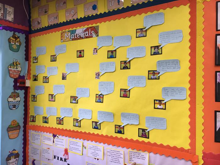 Year 1: Science Materials