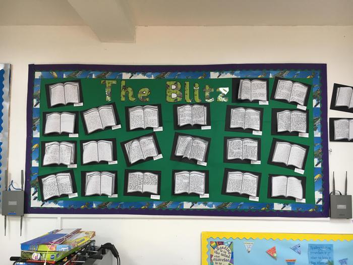 Year 4: The Blitz Diaries