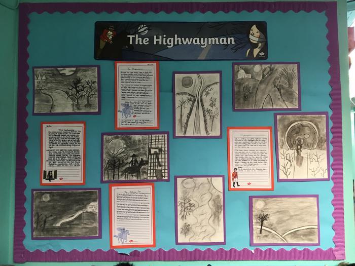Year 6: The Highwayman