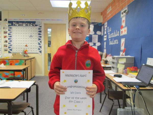 Star of the Week 17th February