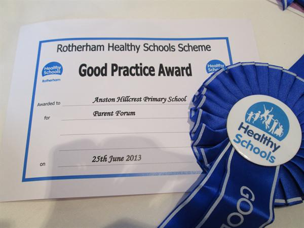 Our Good Practice Award