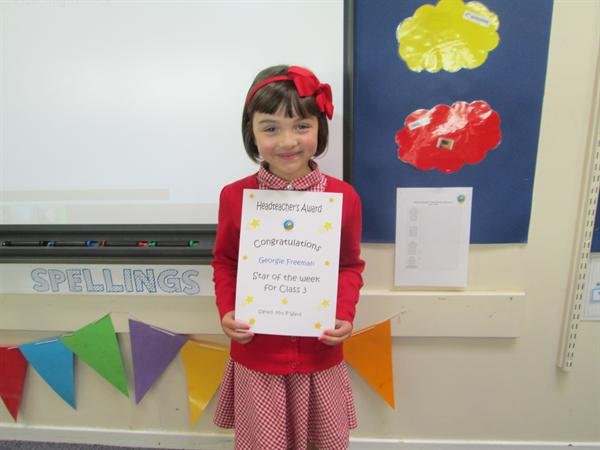 Star of the Week 12th May 2014