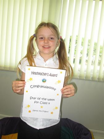 Star of the Week 7th October 2013