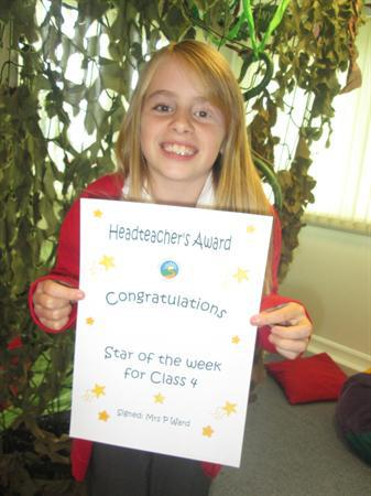 Star of the Week 14th October 2013