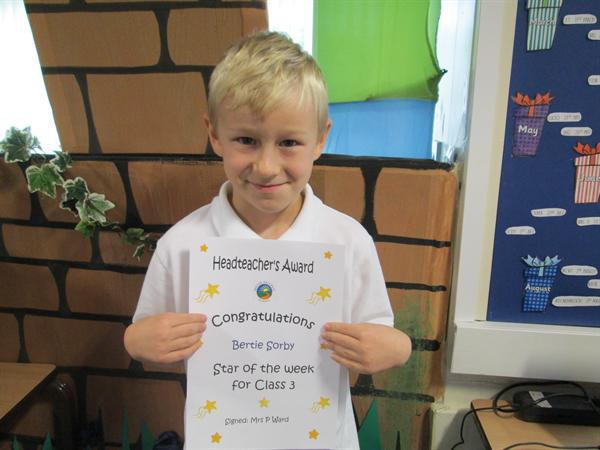 Star of the Week 14th October