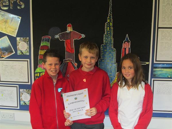 October's Headteacher's Award Winners
