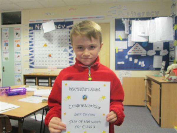 Star of the Week 16th December