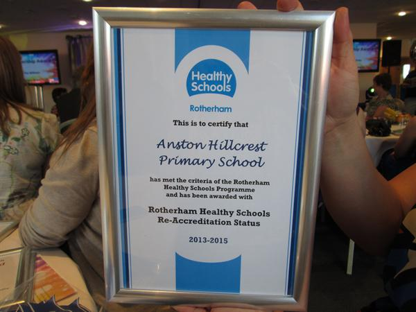Rotherham Healthy Schools Whole School Review