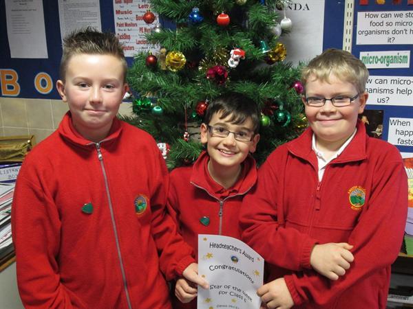November's Achievement Winners