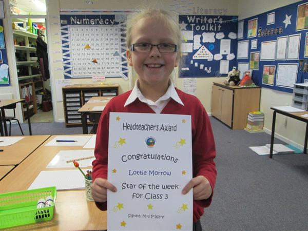 Star of the Week 6th January 2014