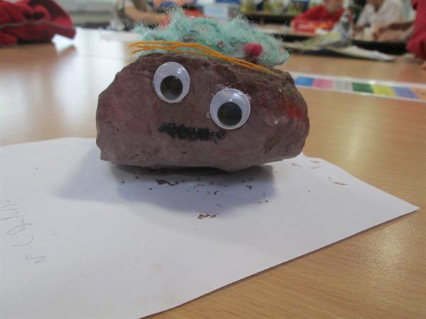 Making Rock Pets!