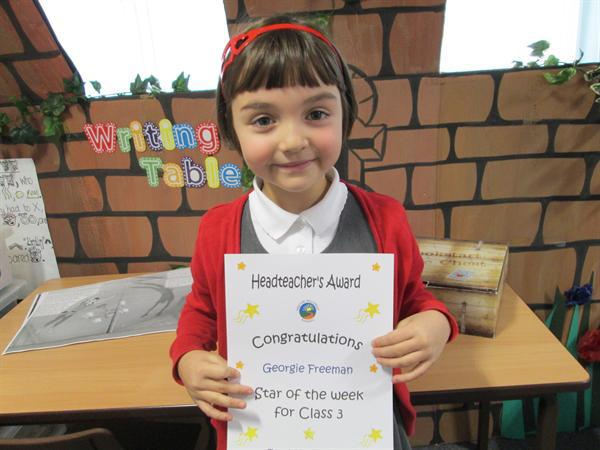 Star of the Week 25th November