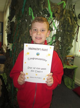 Star of the Week 18th November 2013