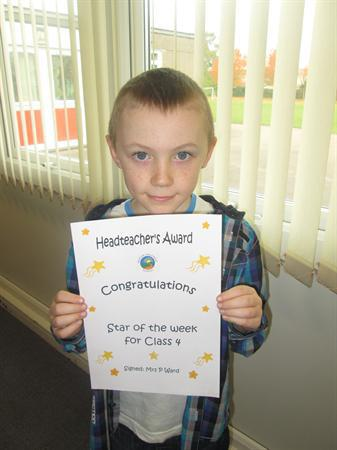 Star of the Week for 11th November 2013