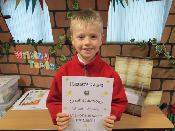 Star of the Week 21st September 2013