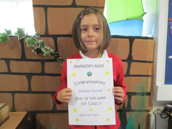 Star of the Week 23rd September