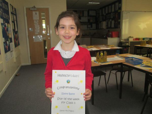 Star of the Week 31st March!