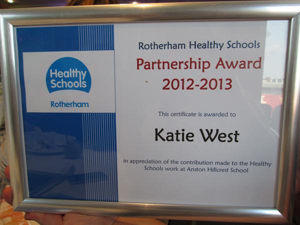 Congratulations Katie West