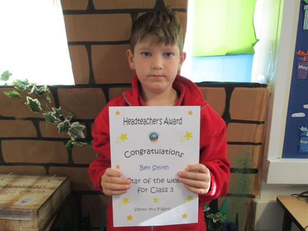 Star of the Week- 28th October 2013